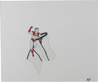 """""""Captain Planet and the Planeteers"""" - Animation Production Cel and Clean-Up Drawing Original Art, Group of 3 (..."""