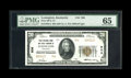 National Bank Notes:Kentucky, Lexington, KY - $20 1929 Ty. 2 First NB & TC Ch. # 906. Anideal note for type, bearing the coveted grade of PMG Gem U...