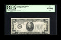 Error Notes:Missing Third Printing, Fr. 2057-D $20 1934C Federal Reserve Note. PCGS New 62PPQ.. ...