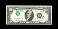 Error Notes:Inverted Third Printings, Fr. 2023-D $10 1977 Federal Reserve Note. Very Choice CrispUncirculated.. ...