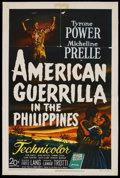 """Movie Posters:War, American Guerrilla in the Philippines (20th Century Fox, 1950). One Sheet (27"""" X 41""""). War. ..."""
