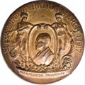 U.S. Presidents & Statesmen: , 1917 Official Woodrow Wilson Inaugural Medal, AU50 Uncertified.Consists of a 51mm bronze medal issued for the inaugural of ...