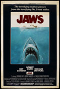 "Movie Posters:Horror, Jaws (Universal, 1975). Poster (40"" X 60""). Horror. ..."