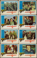 "Movie Posters:War, The Longest Day (20th Century Fox, 1962). Lobby Card Set of 8 (11""X 14""). War.. ... (Total: 8 Items)"