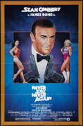 "Movie Posters:James Bond, Never Say Never Again (Warner Brothers, 1983). One Sheet (27"" X41""). James Bond.. ..."