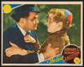 "Movie Posters:Crime, The Last Gangster (MGM, 1937). Lobby Card (10.5"" X 13.5""). Crime....."