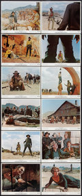 "Movie Posters:Western, Once Upon a Time in the West (Paramount, 1969). Color Photo Set of12 (8"" X 10""). Western.. ... (Total: 12 Items)"