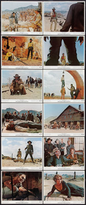 "Once Upon a Time in the West (Paramount, 1969). Color Photo Set of 12 (8"" X 10""). Western. ... (Total: 12 Item..."