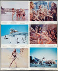 """Movie Posters:Fantasy, One Million Years B.C. (20th Century Fox, 1966). Color Photos (6) (8"""" X 10""""). Fantasy.. ... (Total: 6 Items)"""