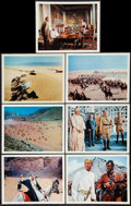 "Movie Posters:Academy Award Winners, Lawrence of Arabia (Columbia, 1962). Deluxe Lobby Cards (9) (11"" X 14""). Academy Award Winners.. ... (Total: 9 Items)"