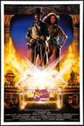 "Movie Posters:Adventure, Raiders of the Lost Ark (Paramount, R-1991). 10th Anniversary OneSheet (27"" X 41"") SS. Adventure.. ..."