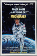 "Movie Posters:James Bond, Moonraker (United Artists, 1979). One Sheet (27"" X 41"") AdvanceStyle A. James Bond.. ..."