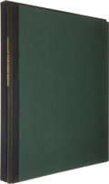 Books:Fine Press & Book Arts, [Limited Editions Club]. Walt Whitman. Songs of the OpenRoad. Photogravures by Aaron Siskind. [New York]: The Limit...