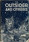 Books:Horror & Supernatural, H. P. Lovecraft. The Outsider and Others. Collected by August Derleth and Donald Wandrei. Sauk City, Wisconsin: Arkh...