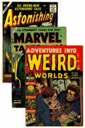 Golden Age (1938-1955):Horror, Atlas Comics Golden Age Horror Related Group (Atlas, 1952-56)....(Total: 9 Comic Books)