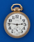 Timepieces:Pocket (post 1900), Illinois 21 Jewel, 60 Hour Bunn Special. ...