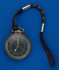 Timepieces:Pocket (post 1900), Hamilton 4992 B, .800 Silver Case Pocket Watch. ...