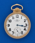 Timepieces:Pocket (post 1900), Ball 21 Jewel 16 Size B 620520 Pocket Watch. ...