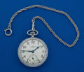 Timepieces:Pocket (post 1900), Ball 16 Size Official Standard 21 Jewel B 259882. ...