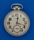 Timepieces:Pocket (post 1900), Illinois 21 Jewel 60 Hour Bunn Special. ...