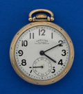 Timepieces:Pocket (post 1900), Hamilton 23 Jewel Grade 950 B Pocket Watch. ...