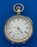 "Timepieces:Pocket (pre 1900) , Fredonia ""Howard Brothers"" Independent Transitional 18 Size PocketWatch. ..."