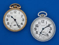 Timepieces:Pocket (post 1900), Two - 16 Size Runners. ... (Total: 2 Items)