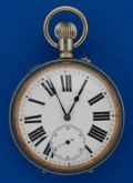Timepieces:Pocket (post 1900), Swiss 66 mm Over Size Pocket Watch. ...