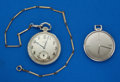 Timepieces:Pocket (post 1900), Two Pocket Watches Gruen & Glycine. ... (Total: 2 Items)