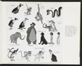 "Movie Posters:Animated, The Jungle Book (Buena Vista, 1967). Publicity Photo Books (3)(Multiple Pages, 8.5' X 11"") With Tipped in Photos (43) (7"" X...(Total: 46 Items)"