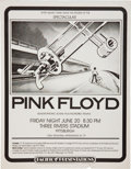 Music Memorabilia:Posters, Pink Floyd Three Rivers Stadium Concert Poster (PacificPresentations, 1975)....