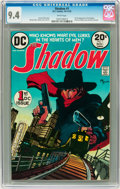 Bronze Age (1970-1979):Miscellaneous, The Shadow #1 (DC, 1973) CGC NM 9.4 White pages....