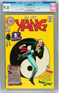 Yang #1 (Charlton, 1973) CGC NM/MT 9.8 Off-white to white pages