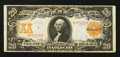 Large Size:Gold Certificates, Fr. 1182 $20 1906 Gold Certificate Very Fine.. ...