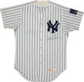 Baseball Collectibles:Uniforms, 1994 Paul Blair Game Worn, Signed Yankees Jersey....