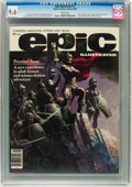 Magazines:Science-Fiction, Epic Illustrated #1 (Marvel, 1980) CGC NM+ 9.6 White pages....