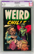 Golden Age (1938-1955):Horror, Weird Chills #1 (Key Publications, 1954) CGC Apparent FN+ 6.5Slight (P) Off-white pages. ...