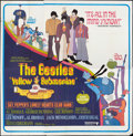"Movie Posters:Animated, Yellow Submarine (United Artists, 1968). Six Sheet (81"" X 81"").Animated.. ..."
