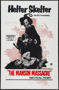 "Movie Posters:Exploitation, The Manson Massacre (Hallmark, 1976). One Sheet (26.75"" X 41"").Exploitation.. ..."
