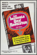"Movie Posters:Sexploitation, The Incredible Sex Revolution (Famous Players Corp., 1965). OneSheet (27"" X 41""). Sexploitation.. ..."