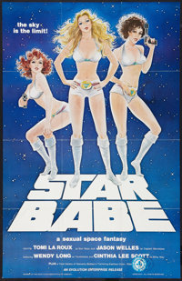 """Star Babe Lot (Evolution Enterprise, 1977). One Sheets (2) (24"""" X 36""""). Adult. ... (Total: 2 Items)"""