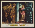 "Movie Posters:Science Fiction, Forbidden Planet (MGM, 1956). Lobby Card (11"" X 14""). ScienceFiction.. ..."