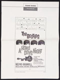 "Movie Posters:Rock and Roll, A Hard Day's Night Lot (United Artists, 1964). Pressbooks (2) (Multiple Pages, 13.5"" X 18""). Rock and Roll.. ... (Total: 2 Items)"
