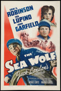 "Movie Posters:Adventure, The Sea Wolf (Warner Brothers, 1941). One Sheet (27"" X 41"").Adventure.. ..."