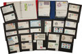 Baseball Collectibles:Others, Sports and Non Sports First Day Covers and Stamps Lot of 125+....