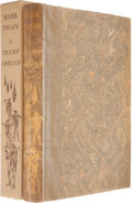 Books:Literature 1900-up, [Limited Editions Club]. Mark Twain. A Tramp Abroad.[Hartford, Connecticut]: The Limited Editions Club, [1966]. One...