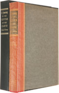 Books:Literature 1900-up, [Limited Editions Club]. Jules Verne. A Journey to the Center ofthe Earth. New York: The Limited Editions Club, 196...