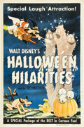 "Movie Posters:Animated, Halloween Hilarities (Walt Disney Productions, 1953). One Sheet(27"" X 41"").. ..."