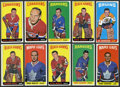 Hockey Cards:Lots, 1964-65 Topps Hockey Collection With 10 High Numbers (53). ...