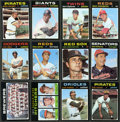 Baseball Cards:Sets, 1971 Topps Baseball Mid To High Grade Partial Set (530/752) WithOver 75 High Numbers....